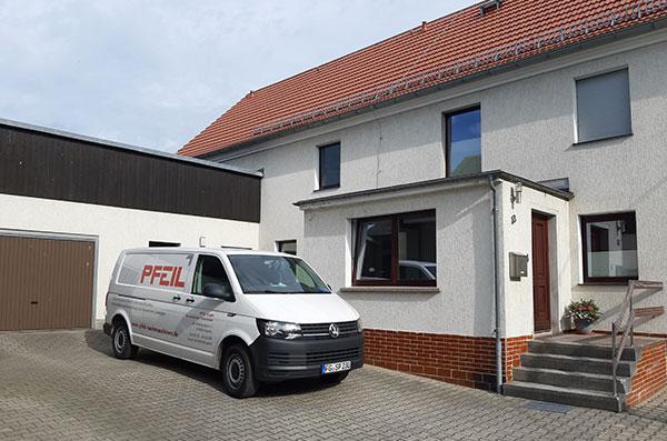 Pfeil GmbH Firmensitz Mühlau